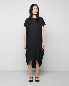 Black Crane | Cocoon Dress | La Garçonne