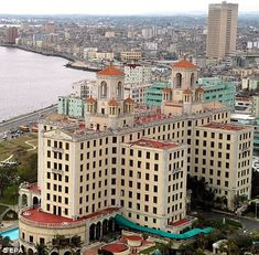 The National Hotel in Havana, Cuba, which had links to the Mafia - and where Sinatra stayed