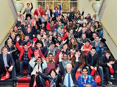 University students from all over the world came together for the event