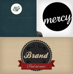 Symptoms Of An Epidemic: Web Design Trends -- Circular Script Logos