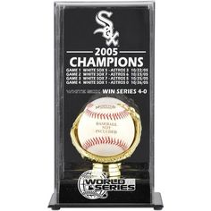 Chicago White Sox Fanatics Authentic 2005 World Series Champions Baseball Display Case - $49.99