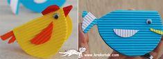 CARDS and figures from corrugated cardboard | krokotak