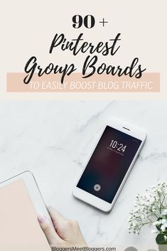 Struggling to get blog traffic? Pinterest is the best platform to promote your blog posts and get traffic! Today I am sharing 90 Pinterest group boards that will help you boost your blog traffic. Visit the blog to get the full list! #blogtraffic #bloggers #blogging #bloggingforbeginners