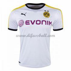 Neues BVB Borussia Dortmund 2016-17 Fussball Trikot Kurzarm Dritte trikotsatz Shop