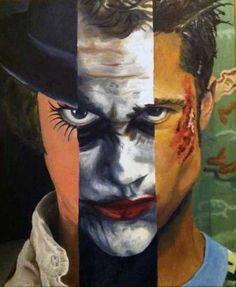 """""""Perfect Chaos"""" (Alex DeLarge Clockwork Orange - Joker The Dark Knight - Tyler Durden Fight Club)"""