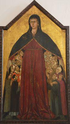 Siena Simone Martini Madonna della Misericordia (my photo)