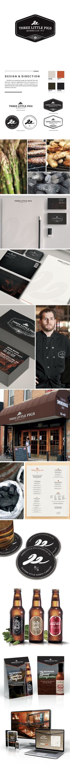 Three Little Pigs Barbecue Pit