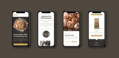 coffee app design - Google Search Rise N Grind, App Design, Rolls, Snacks, Coffee, Google Search, Drinks, Breakfast, Food