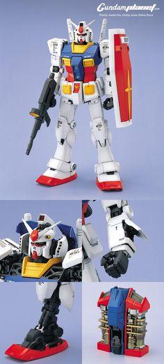 Perfect Grade RX-78-2 Gundam detail shot