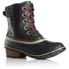 Sorel Women's Slimpack II Lace | Black/Kettle