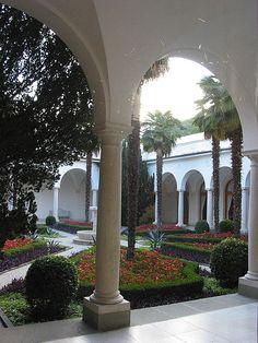 Livadia Palace, Once the Summer home of the Romanoff( Nicholas II)Family   Yalta, Ukraine