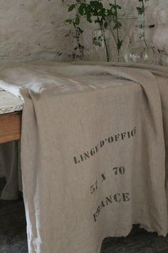 love this vintage linen...