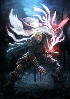 Team Ninja brings us Nioh an action-roleplaying game for PlayStation 4 that is undeniably reminiscent of the legendary Dark Souls, but still manages to create an identity of its own. Far Cry 4, Dark Souls, Video Game News, News Games, Video Games, Nioh Game, Game Art, Dynasty Warriors, Final Fantasy Xv