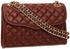 Rebecca Minkoff Mini Affair-Quilted H324I001 Shoulder Bag,Mahogany,One Size Rebecca Minkoff,http://www.amazon.com/dp/B00CW8T9Y6/ref=cm_sw_r_pi_dp_TByatb1VZEDMX91Z