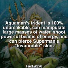 Aquaman' Trident vs Captain America's shield...;)
