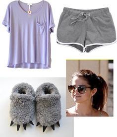 """Lazy day at home"" by e-mwahaha ❤ liked on Polyvore"