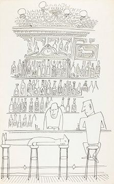 Saul Steinberg: Commemorating the 100th Anniversary of His Birth | The Art Institute of Chicago