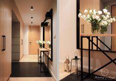NAVY : Eklektyczny korytarz, przedpokój i schody od Kołodziej & Szmyt Projektowanie wnętrz