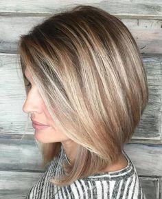 Kahverengi Sarı Saç Modelleri