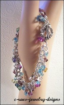 loopy loop chain maille bracelet