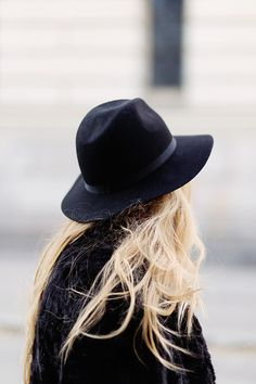 wide brim hat - Being well dressed is a beautiful form of confidence, happiness politeness