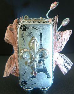 Laura Carson - domino mini book (back)