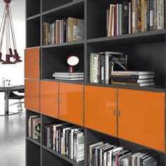 Stylish and modern office storage units- available with countless combinations and finishes.