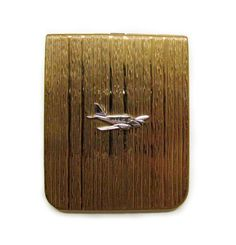 Vintage Airplane Money Clip From Woodstock Antiques Online Airplanes