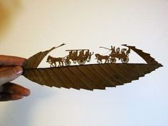 This Artwork Is Made Out Of Fallen Leaves And It's Amazing #Art #Artwork
