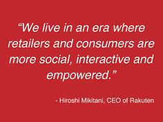 Rakuten, one of the world's largest online marketplaces, today announced its investment in Pinterest
