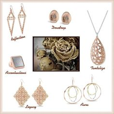 Go Rose Gold Bold! #rosegold #jewelry #accessories #trends