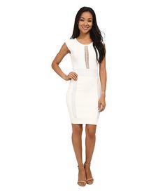 French Connection Cruz Danni Dress 71EEL Winter White/Lurex - Zappos.com Free Shipping BOTH Ways