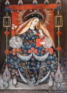 Cuzco School (18th century) The Madonna and Child