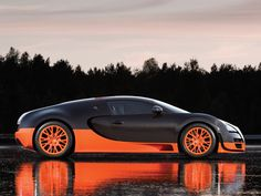 The Bugatti Veyron is no longer recognized as the worlds fastest production car according to the Guiness Book of World Records, after it discovered the Veyron had its speed limiter deactivated during the initial record-setting runs. #cars #bugatti