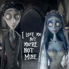 Corpse bride... Emily chose to let go.