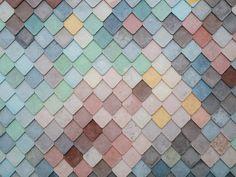 'Pastel Rainbow Mermaid Pattern' Canvas Print by newburyboutique Diy Tile Backsplash, Backsplash Arabesque, Herringbone Backsplash, Wall Tile, Red Colour Palette, Color Palate, Stunning Wallpapers, Pattern Pictures, Color Psychology