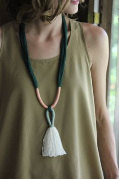 Handmade Wayuu Tassel Necklace