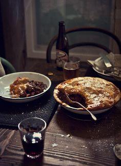 aussie beef pork and cheddar pie