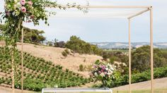 Lauren & Jarred. Paxton Winery, McLaren Vale. We do EPIC. #wedding#eventstyling #emkhostyle#weddingstyling#emkhoacreativecollectiveConcept & styling by www.emkho.com Bridal Table, Different Tones, Pretty Pastel, Signage, Vineyard, Backdrops, Country Roads, Wedding, Outdoor