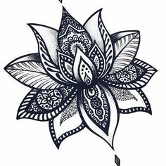 Nice Fleur De Lotus Mandala Collection - Coloring Page Ideas Mandala Tattoo Design, Flower Tattoo Designs, Flower Tattoos, Mandala Foot Tattoo, Lotus Mandala Design, Lotus Design, Cover Up Tattoos, Foot Tattoos, Body Art Tattoos