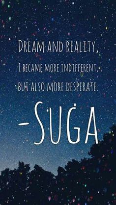 BTS || SUGA || QUOTES || WALLPAPER