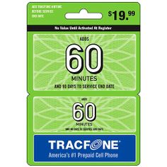 TRACFONE 60 MINUTES 90 DAYS OF SERVICE REFILL PIN