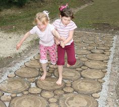 Barefoot Parks and Sensation Paths | Playscapes - I think N would love this