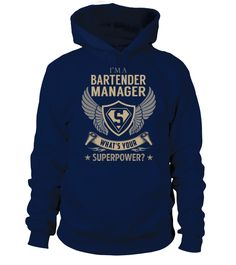 Bartender Manager - Superpower (Hoodie Unisex - Navy) #crossfit #posters #kids bartender tattoo, bartender recipes alcohol, bartender recipes blue curacao, back to school, aesthetic wallpaper, y2k fashion Tshirt Business, Sporty Look, Sport T Shirt, Superpower, Hoodies, Sweatshirts, Tshirts Online, Dressmaking, Types Of Sleeves