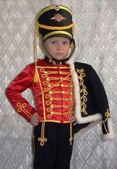Детские карнавальные костюмы ручной работы. Ярмарка Мастеров - ручная работа. Купить Гусарский костюм. Handmade. Ярко-красный, доломан