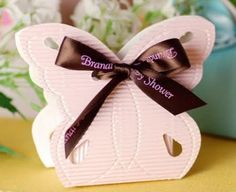 DIY Butterfly Shaped Favor Box,