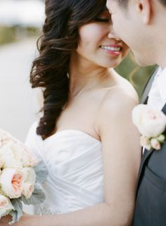 Ideas for Long Bridal Hair   photography by http://sarahkchen.net/