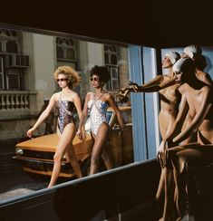 Guy Bourdin, Vogue (1975), Paris