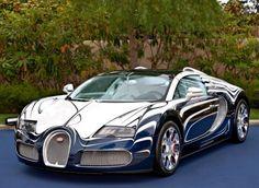 "Bugatti ""White Gold"" Supercar"