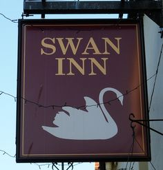Pub Sign Art a la cARTe: The Swan Inn - Stroud, Gloucestershire